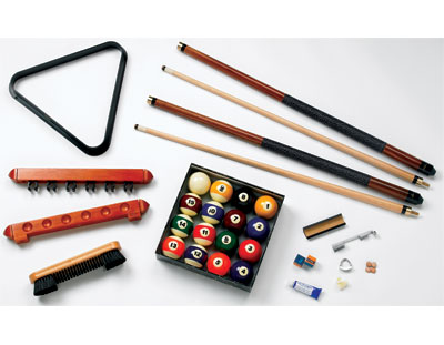economy billiard starter set