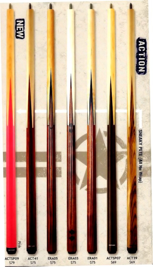 Action ADV101 Pool Cue